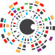 Lens World Logo - GraphicRiver Item for Sale