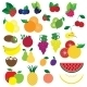 Colorful Fruits and Berries Vector - GraphicRiver Item for Sale