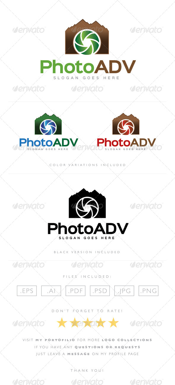 GraphicRiver Photo Adventure Logo 8489596
