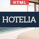 Hotelia - Responsive Hotel Theme - ThemeForest Item for Sale