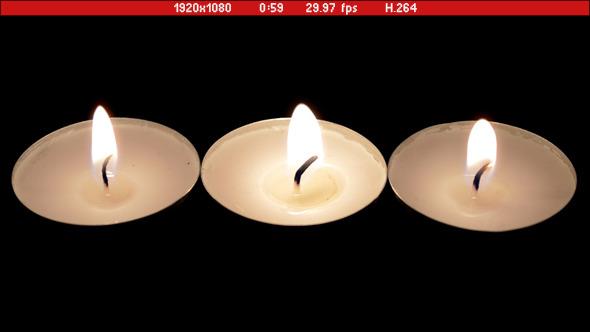 Candles In Dark 03
