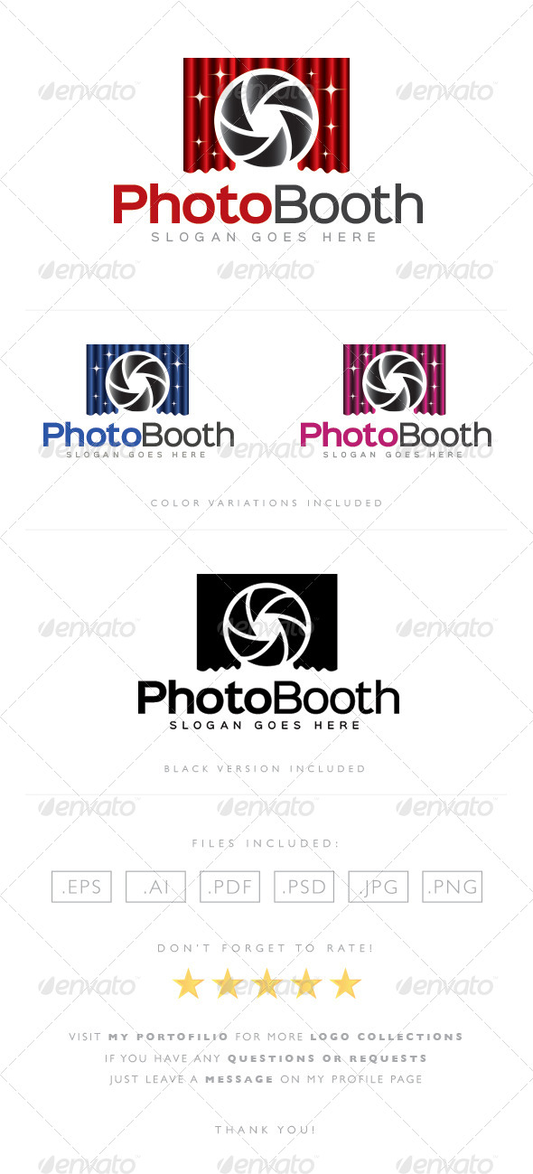 GraphicRiver Photo Booth Logo 8490442