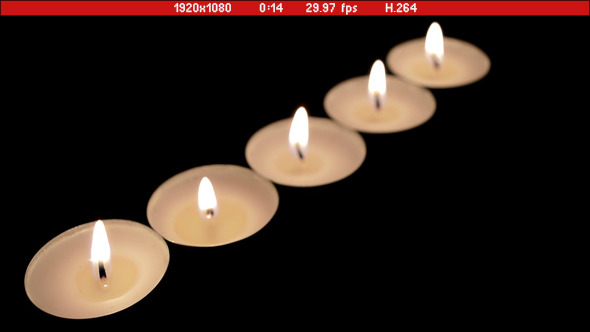 Candles In Dark