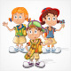 Schoolchildren   - GraphicRiver Item for Sale