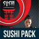 Sushi Restaurant Menu Bundle 03 - GraphicRiver Item for Sale