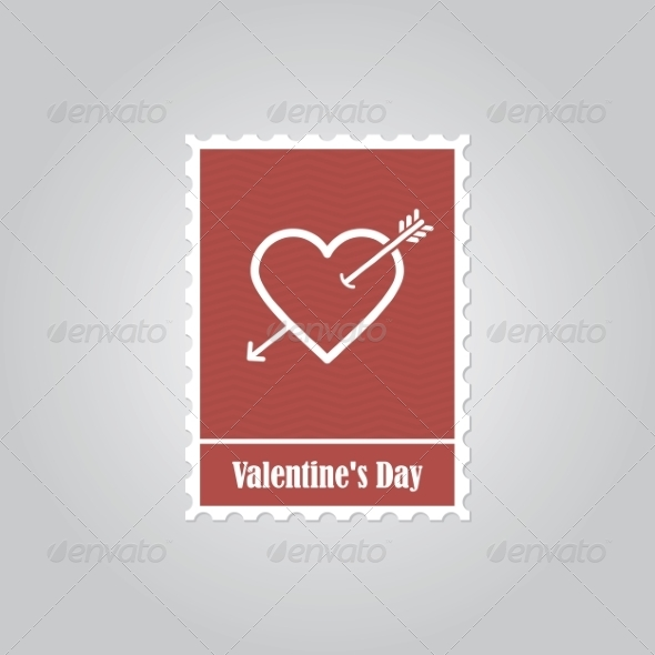 GraphicRiver Happy Valentine s Day stamps 8491039