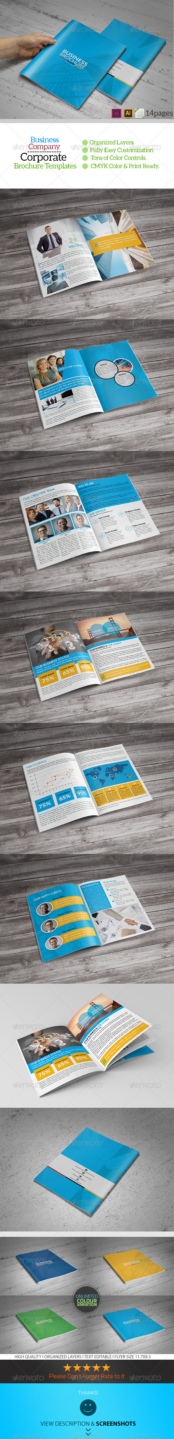 GraphicRiver 14 Page Business Brochure Template 8469212