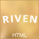 Riven - Responsive Coming Soon Template - ThemeForest Item for Sale