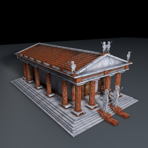 3DOcean Greek Temple 8491401