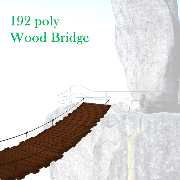 3DOcean Wood bridge 8491409