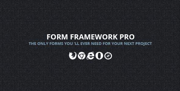 CodeCanyon Form Framework Pro 8392070