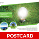 Green Energy Postcard Template - GraphicRiver Item for Sale