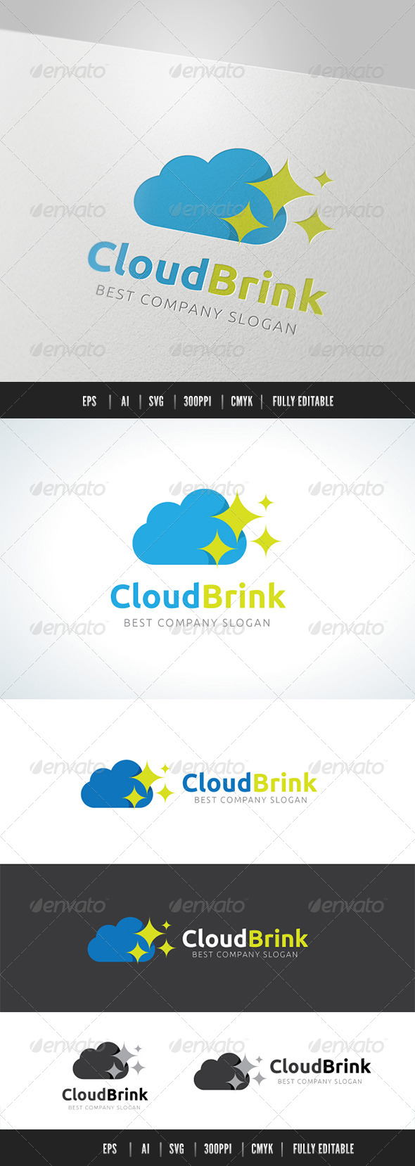 GraphicRiver CloudBrink 8492341