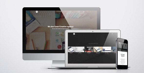ThemeForest Crow Creative Agency HTML Template 8492599