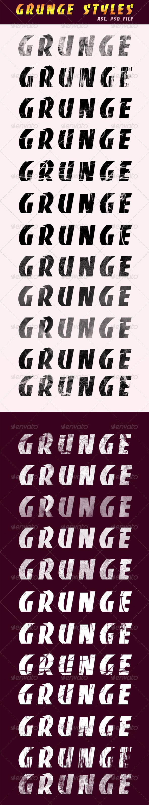 GraphicRiver 24 Grunge Styles 8492670