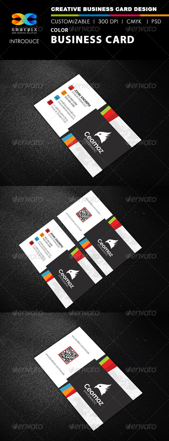 GraphicRiver Color Business Card 8493011