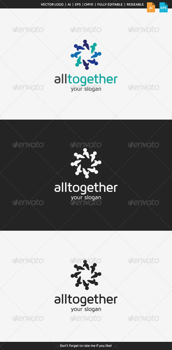 GraphicRiver All Together Logo 8493325