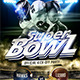 Super Bowl Flyer Template - GraphicRiver Item for Sale