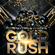 Gold Rush Flyer Template
