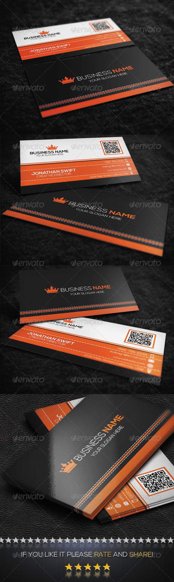 GraphicRiver Corporate Business Card No.06 8493807