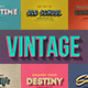 Vintage Retro Text Effects 3D - GraphicRiver Item for Sale