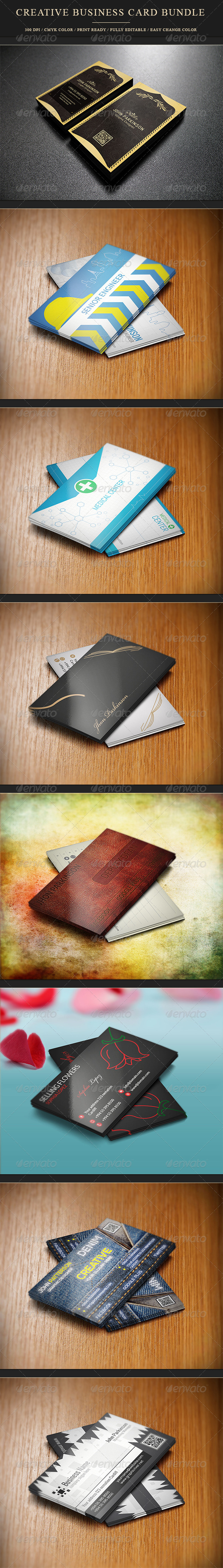 GraphicRiver Creative Business Card Bundle 8493895