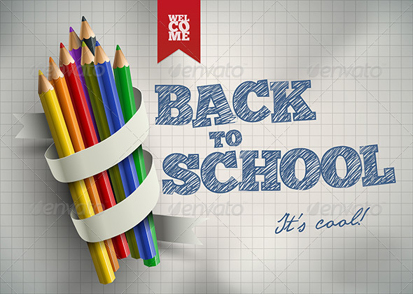 GraphicRiver Back to School 8493953