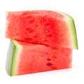 Sliced ripe watermelon isolated on white background cutout - PhotoDune Item for Sale