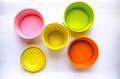 colorful of metal bin - PhotoDune Item for Sale