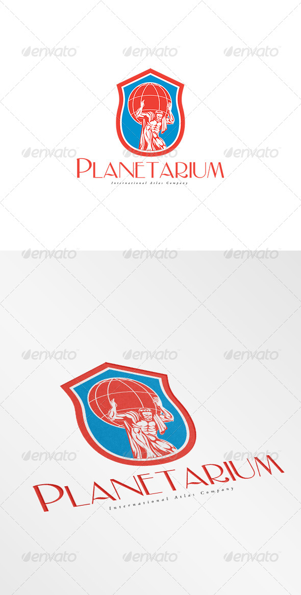 GraphicRiver Planetarium International Atlas Company Logo 8494239