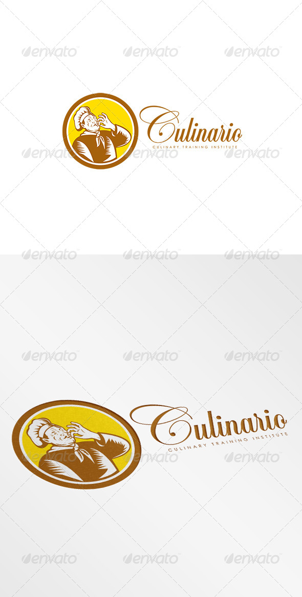 GraphicRiver Culinario Culinary Training Institute Logo 8494266