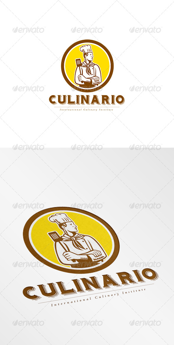 GraphicRiver Culinario International Logo 8494267