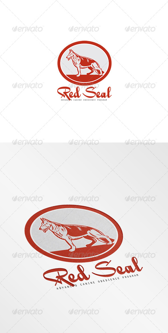 Red Seal Canine Obedience Program Logo