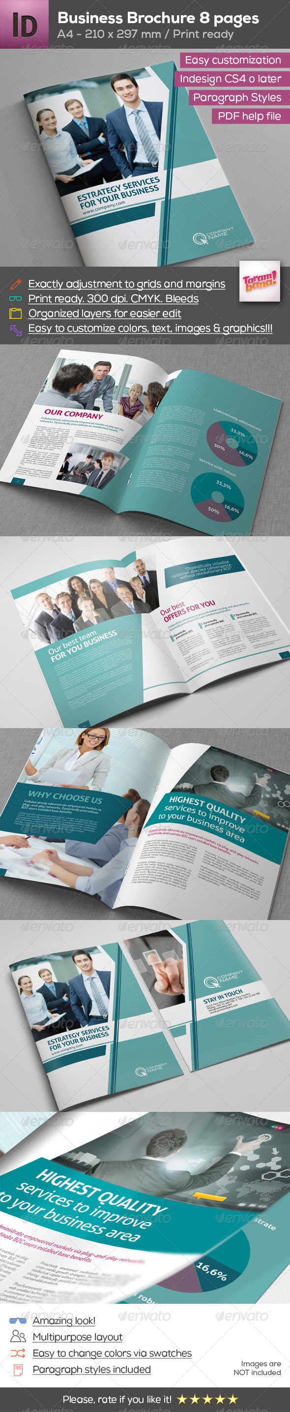 A4 Modern Business Brochure