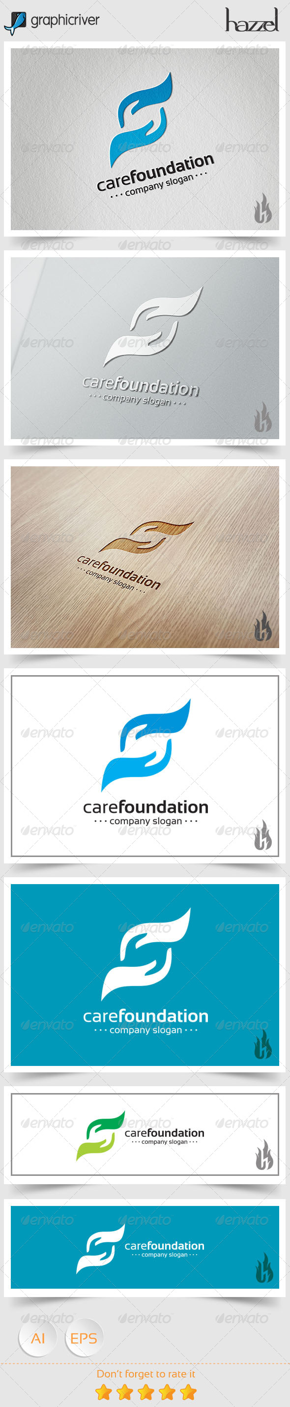 GraphicRiver Care Foundation Logo 8494369