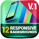 12 Responsive Backgrounds - GraphicRiver Item for Sale