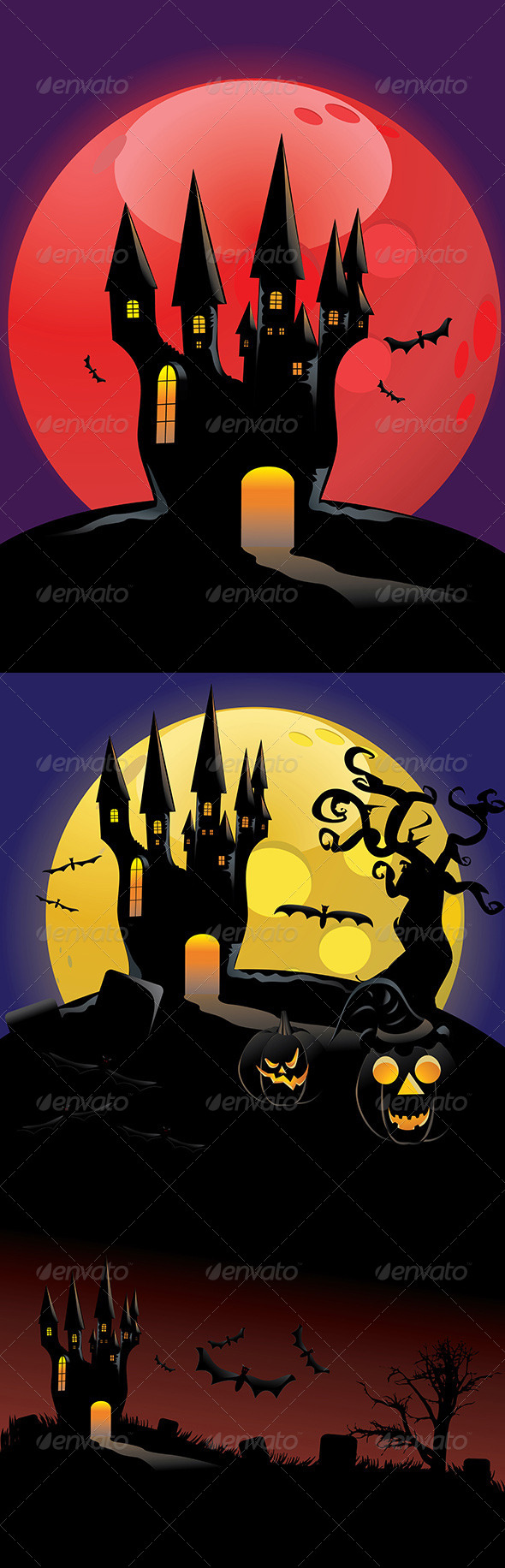 GraphicRiver Halloween Castle 8494457