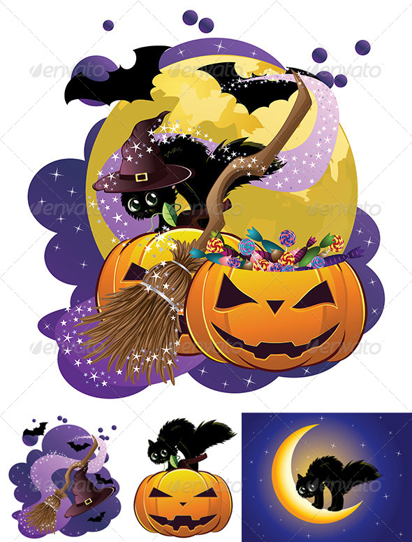 GraphicRiver Halloween Poster 8494461