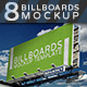 Billboards Mock-Up - GraphicRiver Item for Sale