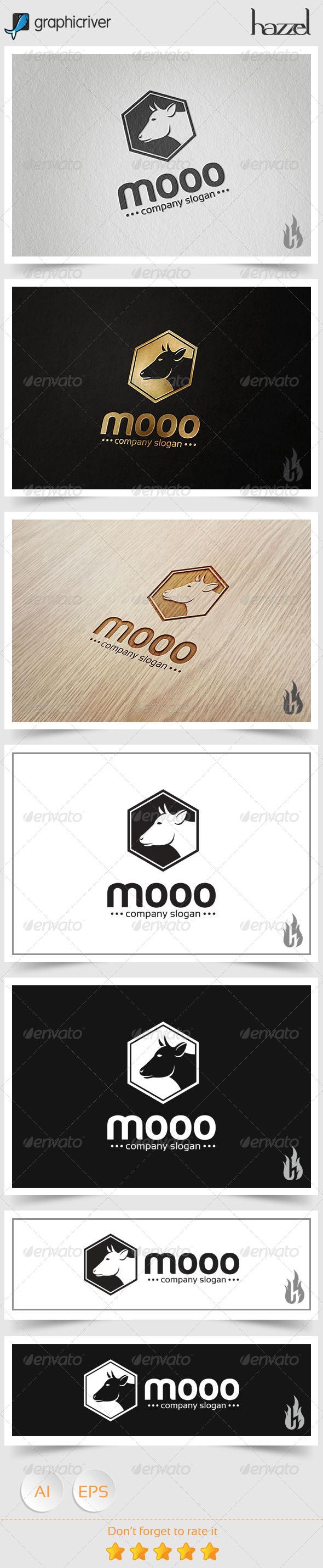 GraphicRiver Mooo Logo 8494556