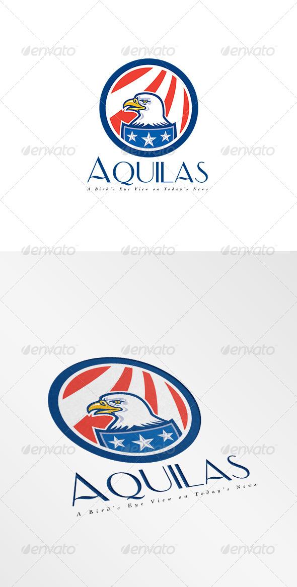 GraphicRiver Aquilas Todays News Logo 8494830