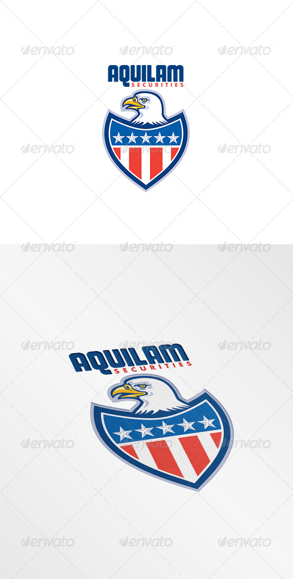 GraphicRiver Aquilam Securities Logo 8494831