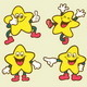 Smiley Star Icons - GraphicRiver Item for Sale