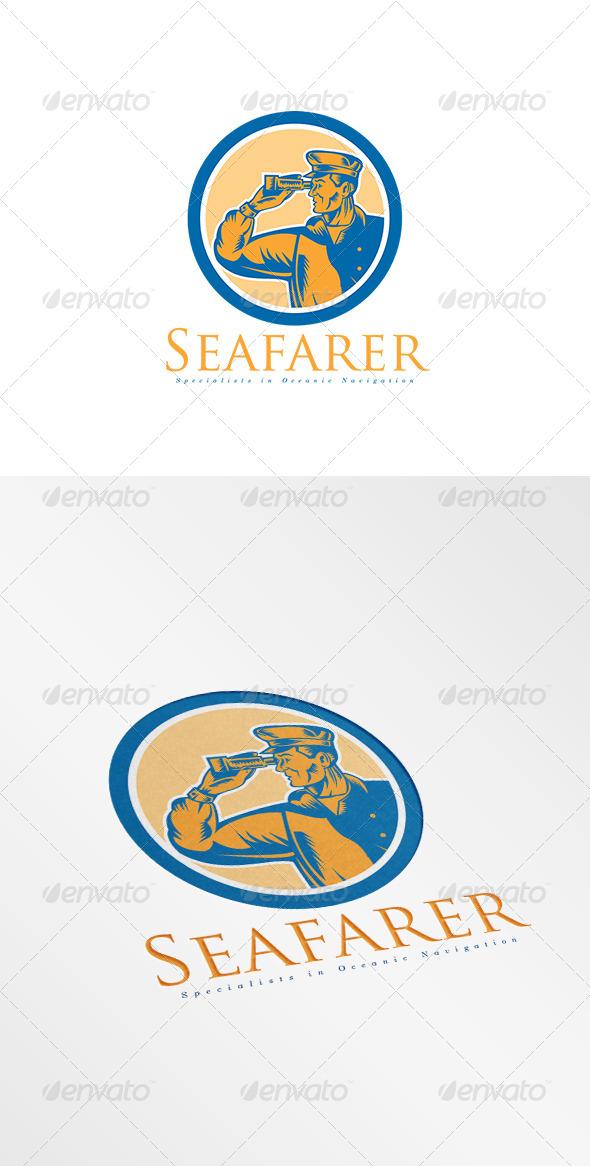 GraphicRiver Seafarer Oceanic Navigation Logo 8495010