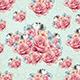 Diamond & Flower Bouquet Background - GraphicRiver Item for Sale