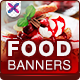 Restaurant and Cafe Banners - GraphicRiver Item for Sale