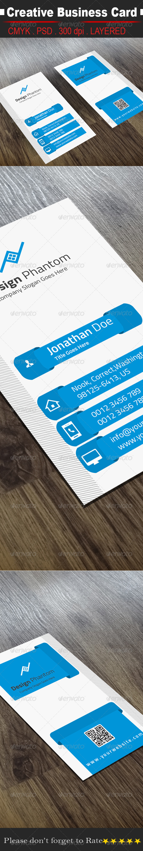 GraphicRiver Creative Business Card 8495079