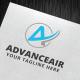 Advanceair Logo Template - GraphicRiver Item for Sale