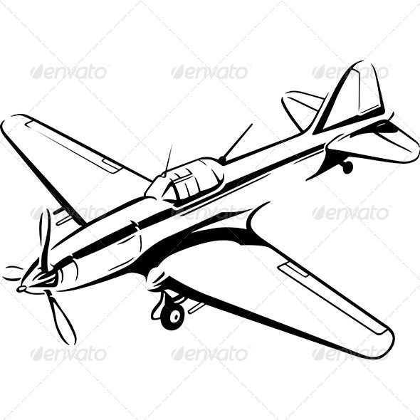 GraphicRiver Airplane 8495176