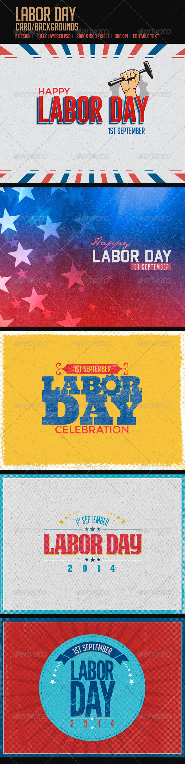 GraphicRiver Labor Day 8495184